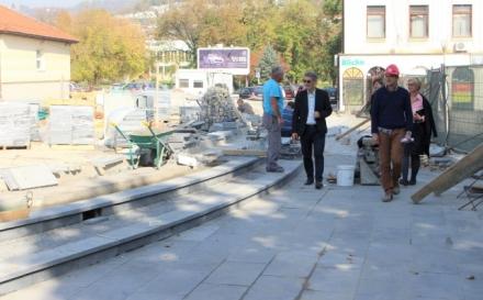 U toku rekonstrukcija dijela ulice Šetalište Slana banja i Trga slobode