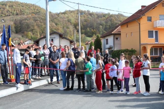 Otvoren most preko rijeke Soline u naselju Brđani  (Video/Foto)