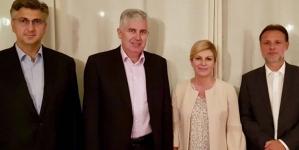 Nakon izbornog poraza: Čović razgovarao sa predsjednicom Republike Hrvatske