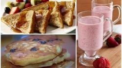 10 prijedloga za brzinski doručak