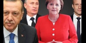Erdogan, Putin, Macron i Merkel prvi put zajedno traže rješenje za Siriju
