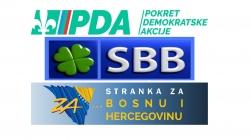 TK: S kim će u koaliciju PDA, SBiH i SBB?