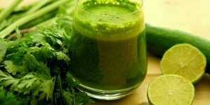 Zeleni sok za obnovu energije