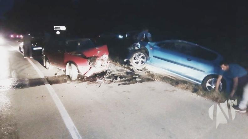 U teškoj nesreći povrijeđeno pet osoba