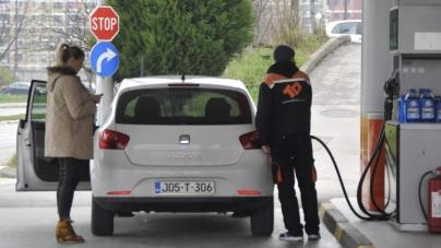 U Bijeljini litar benzina 2,09, a u Sarajevu 2,36 KM