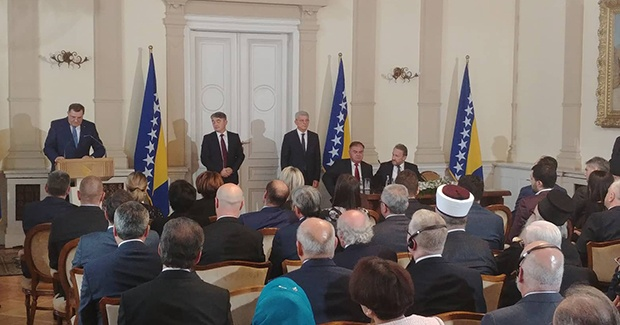 Džaferović, Komšić i Dodik položili zakletve