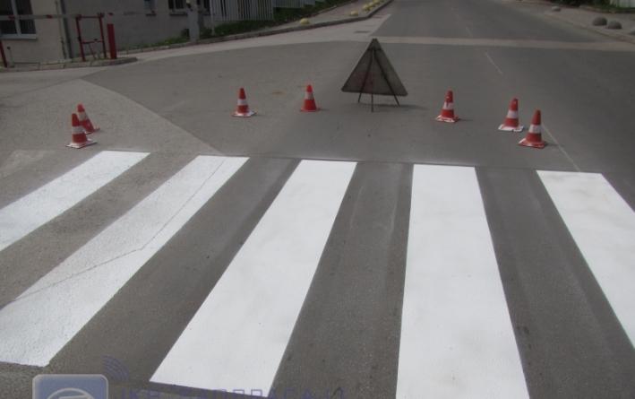 Usporivači brzine sa pješačkim prelazima