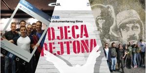 Najava projekcije dokumentarnog filma Djeca Dejtona u Domu mladih Tuzla