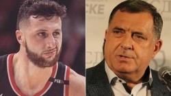 Nurkić poslao šaljivu poruku Dodiku u vezi zastave RS-a