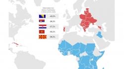Mapa: BiH će ostati bez pola stanovništva