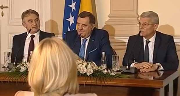 Članovi Predsjedništva BiH danas sa delegacijom PIC-a