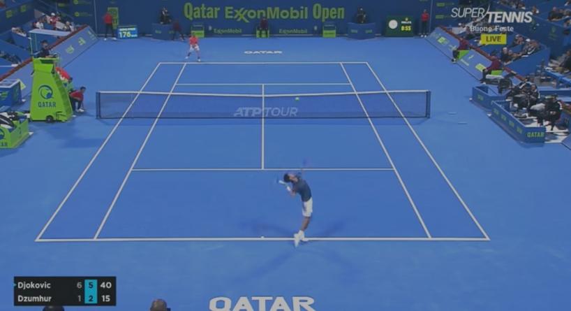 Novak Đoković s lakoćom savladao Damira Džumhura u prvom kolu turnira u Dohi