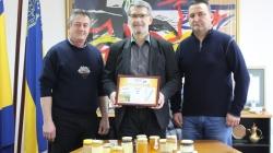 """Gradonačelnik razgovarao sa organizatorima Međunarodnog sajma pčelarstva i pčelinjih proizvoda """"Medena Tuzla"""""""