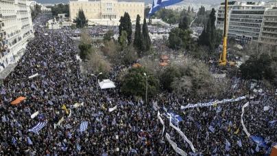 Neredi u Atini zbog imena Makedonije
