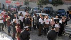"""Prevareni kupci stanova u zgradi """"15. maj"""" ponovo izašli na ulice"""