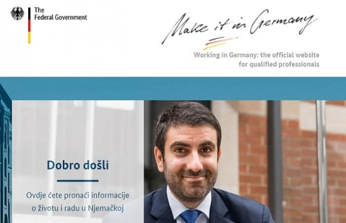 Njemačka vlada pokrenula stranicu na bosanskom jeziku