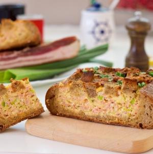 Odlična ideja za ukusan doručak: Punjeni hljeb