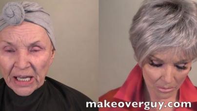 78-godišnjakinja posjetila stilistu, našminkala se i pokazala koliko se može pomladiti u sat vremena