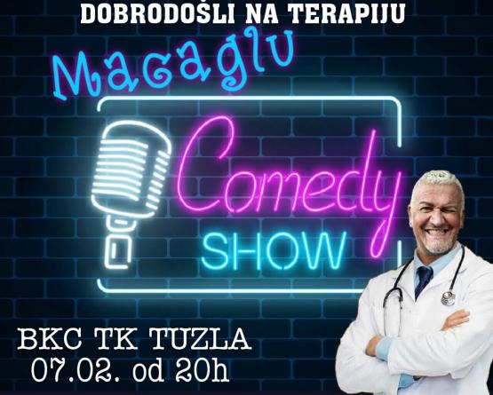 """Počela prodaja karata za stand up komediju """"Macaglu"""" u Tuzli i Gračanici"""