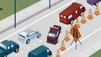 Je li vozač koji se ovako ubacuje u lijevu traku idiot ili je zapravo u pravu?