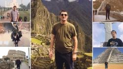 Nema ni dana radnog staža ali je posjetio čak 110 zemalja: Kako je Mate Biljarist ispunio životni san i obišao sva čuda svijeta