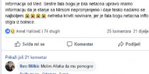 Menadžer negira da je preminuo Mirsad Kerić koji je bio sa Šaulićem u automobilu