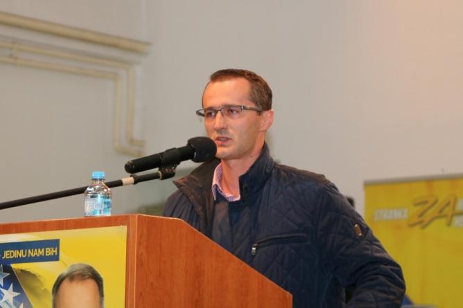 Gušić: Stranka za BiH ima sporazum sa SDA, nećemo pregovarati sa SDP-om u tom formatu