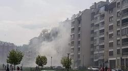 U tuzlanskom naselju Stupine požar buknuo na šestom spratu