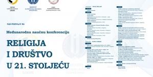 """Međunarodna naučna konferencija """"Religija i društvo u 21. stoljeću"""" 22. aprila u Tuzli"""