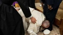 Papa ljubio stopala vođama Južnog Sudana