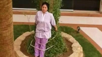 Bogati Saudijac zavezao spremačicu za drvo jer je napravila grešku