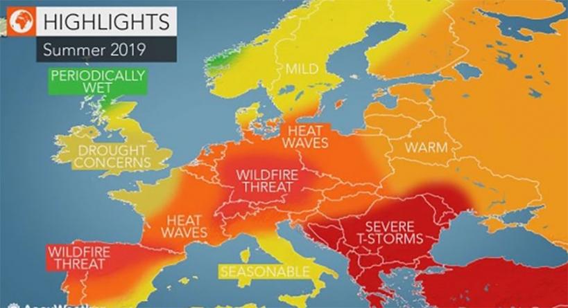 AccuWeather objavio prognozu za ljeto. Stižu paklene vrućine i razorne oluje