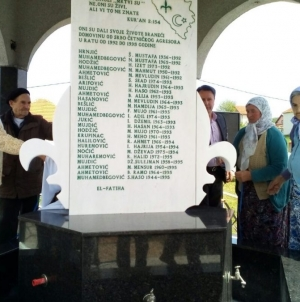 U MZ Međeđa otkriveno spomen-obilježje poginulim borcima i civilnim žrtvama rata