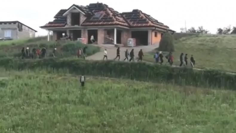 Alarmantna situacija: Policija u pripravnosti, migranti sa šipkama hodaju Velikom Kladušom