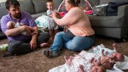 Amerikanka se dugo borila za potomstvo, onda je rodila blizance, a sada i četvorke
