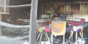 Požar u RTV TK: Izgorio veliki studio