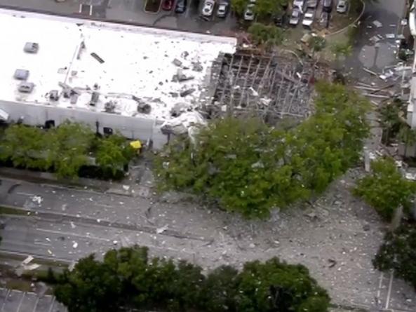 Velika eksplozija u šoping-centru na Floridi