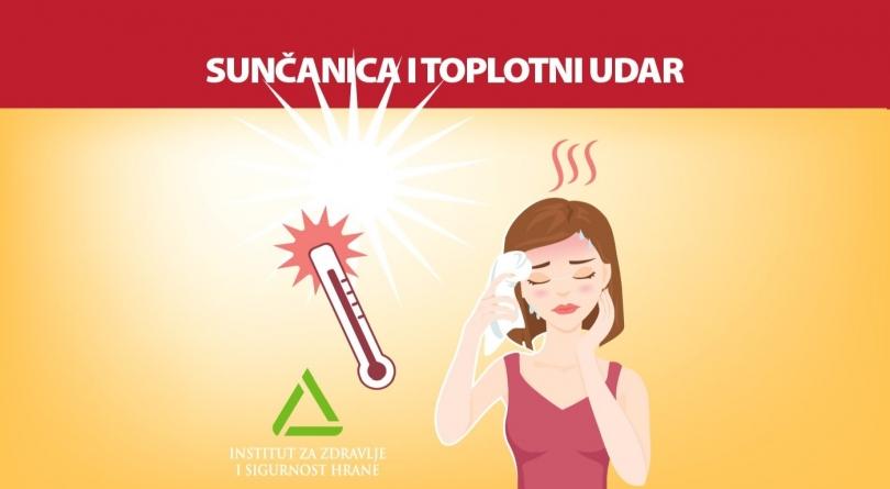 Simptomi i prevencija sunčanice i toplotnog udara