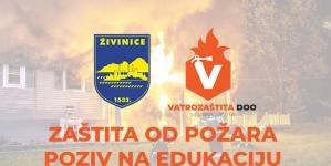 Besplatna edukacija zaštite od požara za građane Živinica