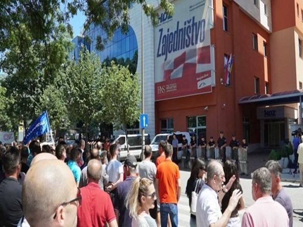 Sindikat Aluminija najavio velike proteste pred zgradom HDZ-a i Vlade FBiH
