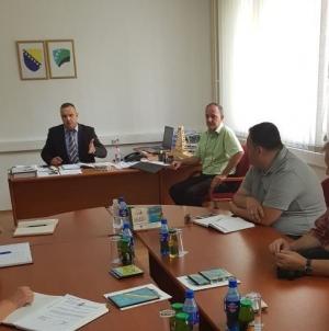 Ministar Hasić sastao se sa predstavnicima 14 koncesionara