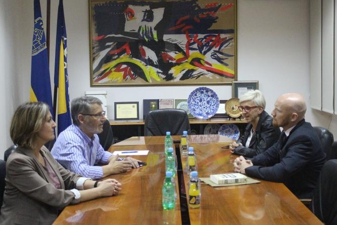 Susret ambasadora Velike Britanije, Nj.E. Matthew Fielda, sa gradonačelnikom Imamovićem