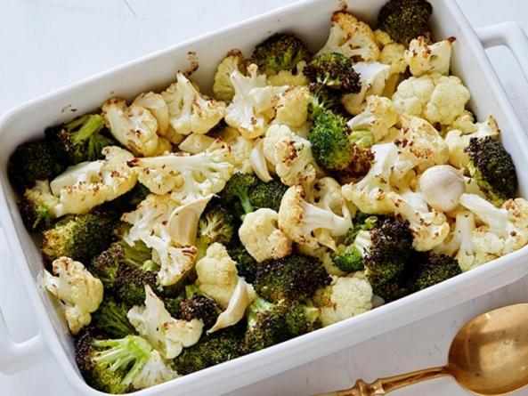 Zapečeni karfiol i brokula za sladokusce