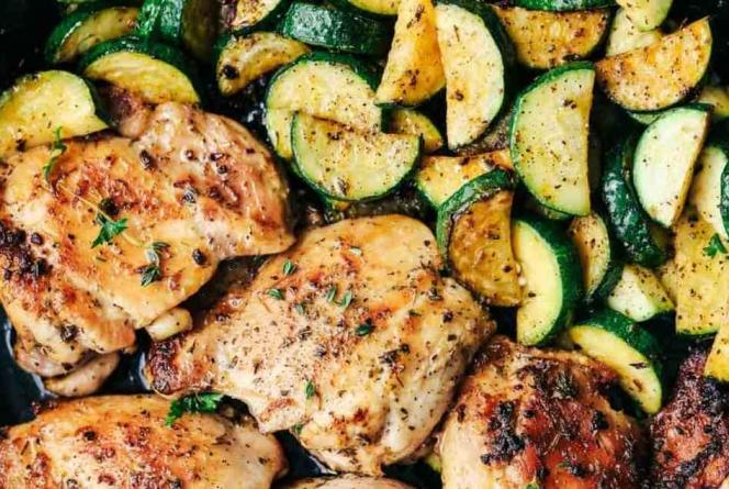Piletina s tikvicama