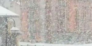 Snijeg u Austriji i Italiji
