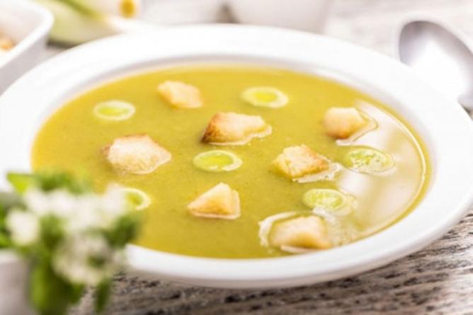 Krem-supa sa prazilukom