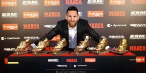 Messi osvojio šestu Zlatnu kopačku u karijeri