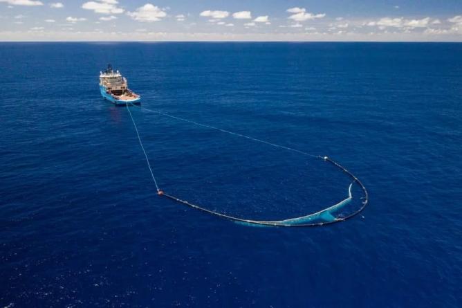 Otpad u Pacifiku čisti ogromna plutajuća naprava