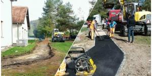 Pismo zahvalnosti za nesebičnu pomoć i izvršene građevinske radove u dvorištu OŠ Dragunja