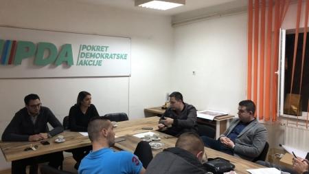 Amra Mujkanović imenovana za novu predsjednicu Asocijacije mladih PDA TK